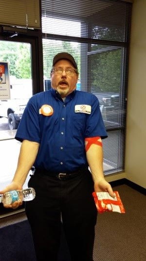 portland plumber at blood drive